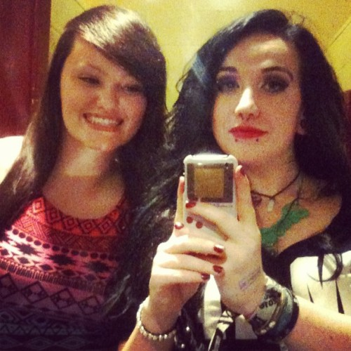 Me and Robyn last night in Tache :)  (at Tache)
