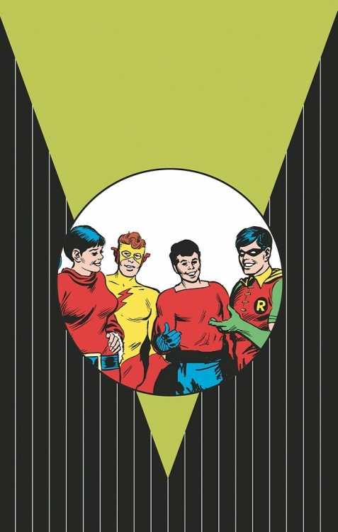 twofistedpulp:  The Teen Titans from DC Comics.  By Nick Cardy.