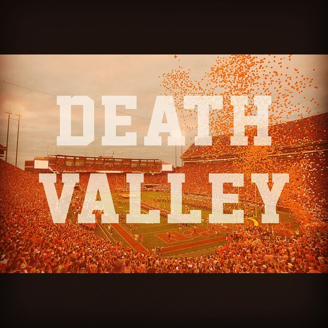 The week is half way over, that means only a few more days till the #tigers play some more #football! #clemson #deathvalley #ncaa #acc