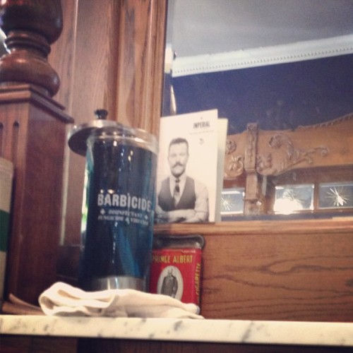 @handsomeroaster spotted in NYC as I got my hairs cut
