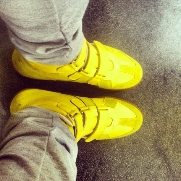 Yellow Gang #margiela #martinmargiela