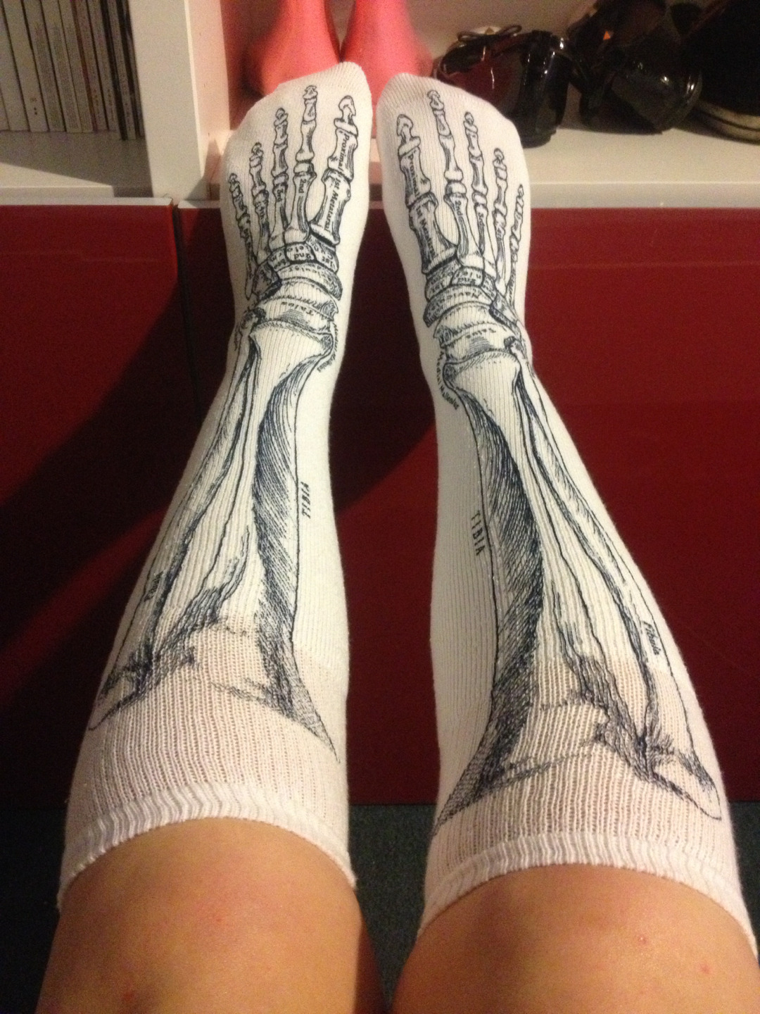 Absolutely love my new socks from the Wellcome Collection. This are perfectly me.