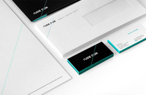 Graphic Corporate Identity Freelance Graphic Designer and Art Director Rik Grafiek from Gent, Belgium was hired to create this new graphic corporate identity for Code D'or. Design, Branding and Graphic Design Inspiration on WE AND THE COLORWATC//Facebook//Twitter//Google+//Pinterest