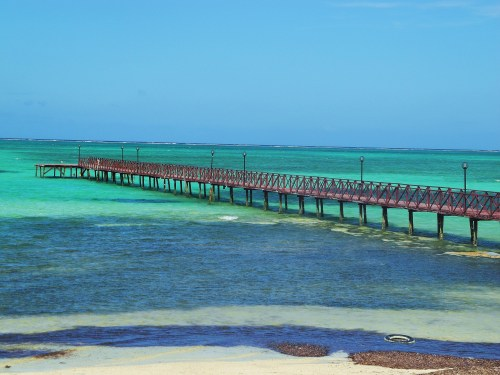 Pier at Playa Santa Lucia, Cuba ~ by Ryan Jackman (Me)
