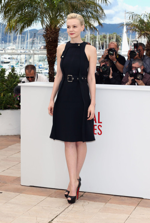 Carey Mulligan at the Cannes Photocall of Inside Llewyn Davis, May 18th