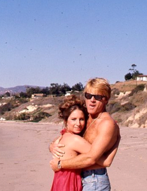 nightswimming:  Barbra Streisand and Robert Redford, The Way We Were, 1973