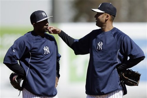 @StaceGots: Nunez and Jeter. Awww.