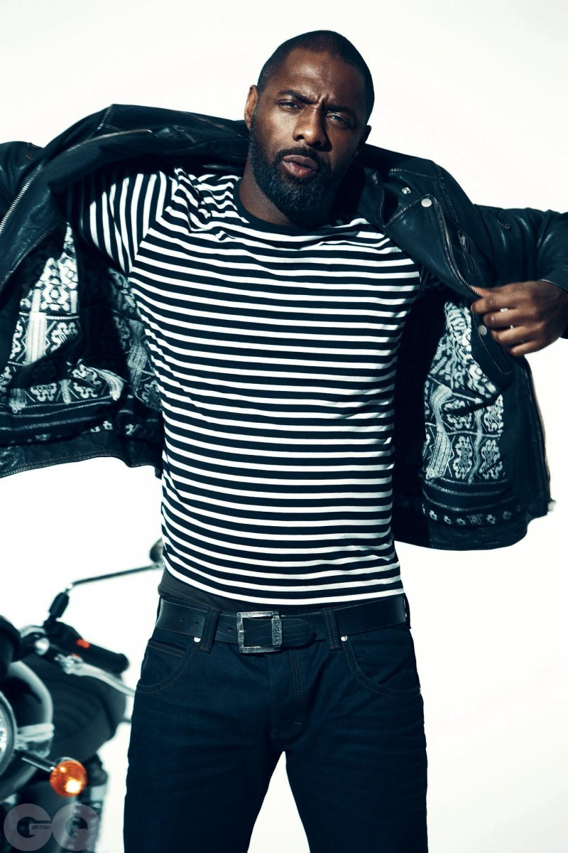 Idris Elba - GQ UK by Norman Jean Roy, March 2013 WHAT.