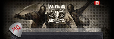 Tonight is the first night in the Montréal series of the Wacken Metal Band Battle competition. CJLO DJs will be guest judging throughout the series, with Andrew from Grade A Explosives on the panel this evening. Tonight's event is at Katacombes and starts at 8:30, and features Dissension, Bookakee, Warcall, and Virulys. More info is here and here.