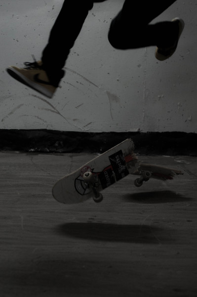 hunco:  Tre flip gone wrong