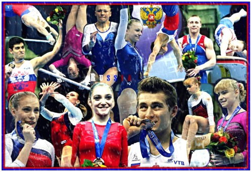 russian-nugget:  So, Russia got 6 gold medals & 4 bronze medals during the 2013 European Gymnastics.  Aliya Mustafina: Gold on AA & UB. David Belyavskiy: Gold on AA & Bronze on PB. Anastasia Grishina: Bronze on AA & BB. Maria Paseka: Bronze on UB. Denis Ablyazin: Gold on Vault. Ksenia Afanasyeva: Gold on Floor. Emin Garibov: Gold on HB. DAVAI TEAM RUSSIA :)