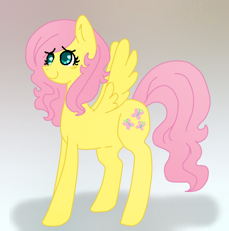 OOC: Another future design or something. This will be shut-in fluttershy, but I also wanted to do a stalker shy ;n; you can only have one tree eoijfowiejf obviously mod couldn't sleep last night ;u;