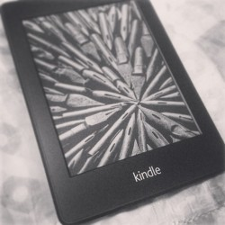 It's here! Finally! My new best friend. Haha #kindle