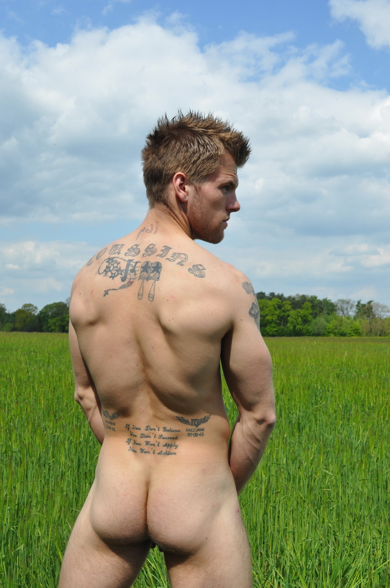 Nice tattoed back