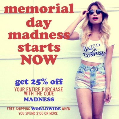 Get 25% off your entire purchase with the code 'MADNESS' starting… NOW! 😳 (at WWW.SHOPJAWBREAKING.COM)