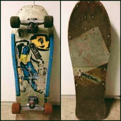 Deck of the Day | G&S | Neil Blender   #neilblender @g&s #sk8face