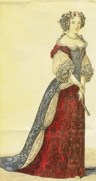 a-harlots-progress:  French fashions, 1690s