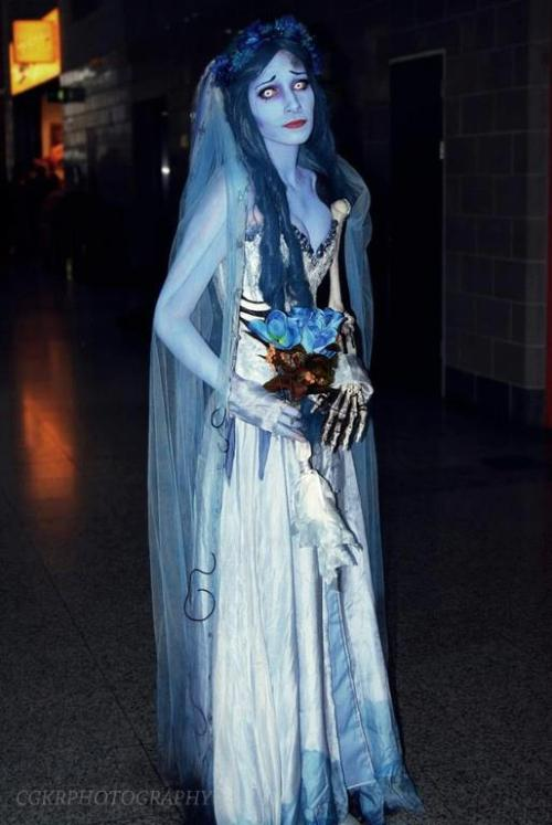 Featured on Best Cosplay Ever (This Week) - 04.16.13: Emily (Corpse Bride), cosplayed by TigerLily Cosplay, photographed by CGKR Photography