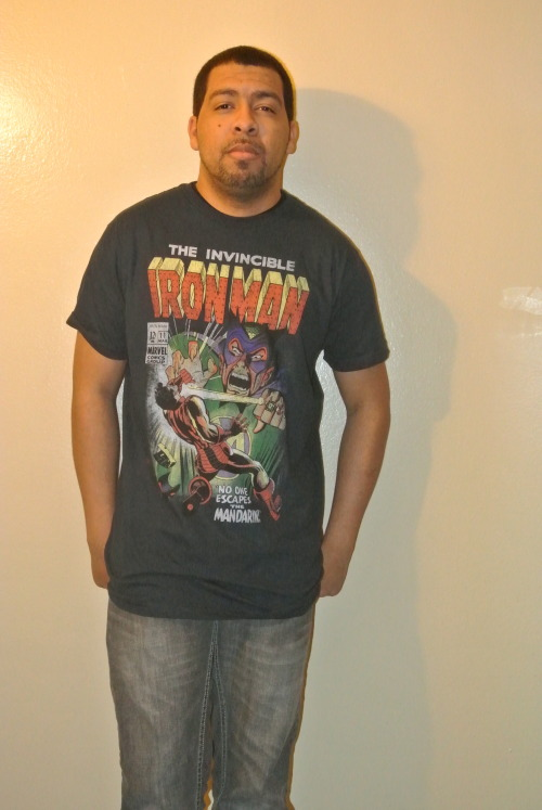 Just got my new Iron man T-shirt from www.jackofalltradesclothing.com Follow me on instagram @jokez30