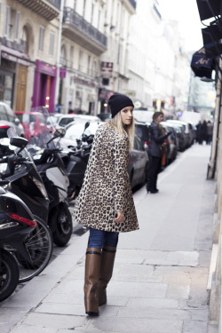 I need an animal print jacket kendaatlarge:  the fashion guitar: leopard in the city