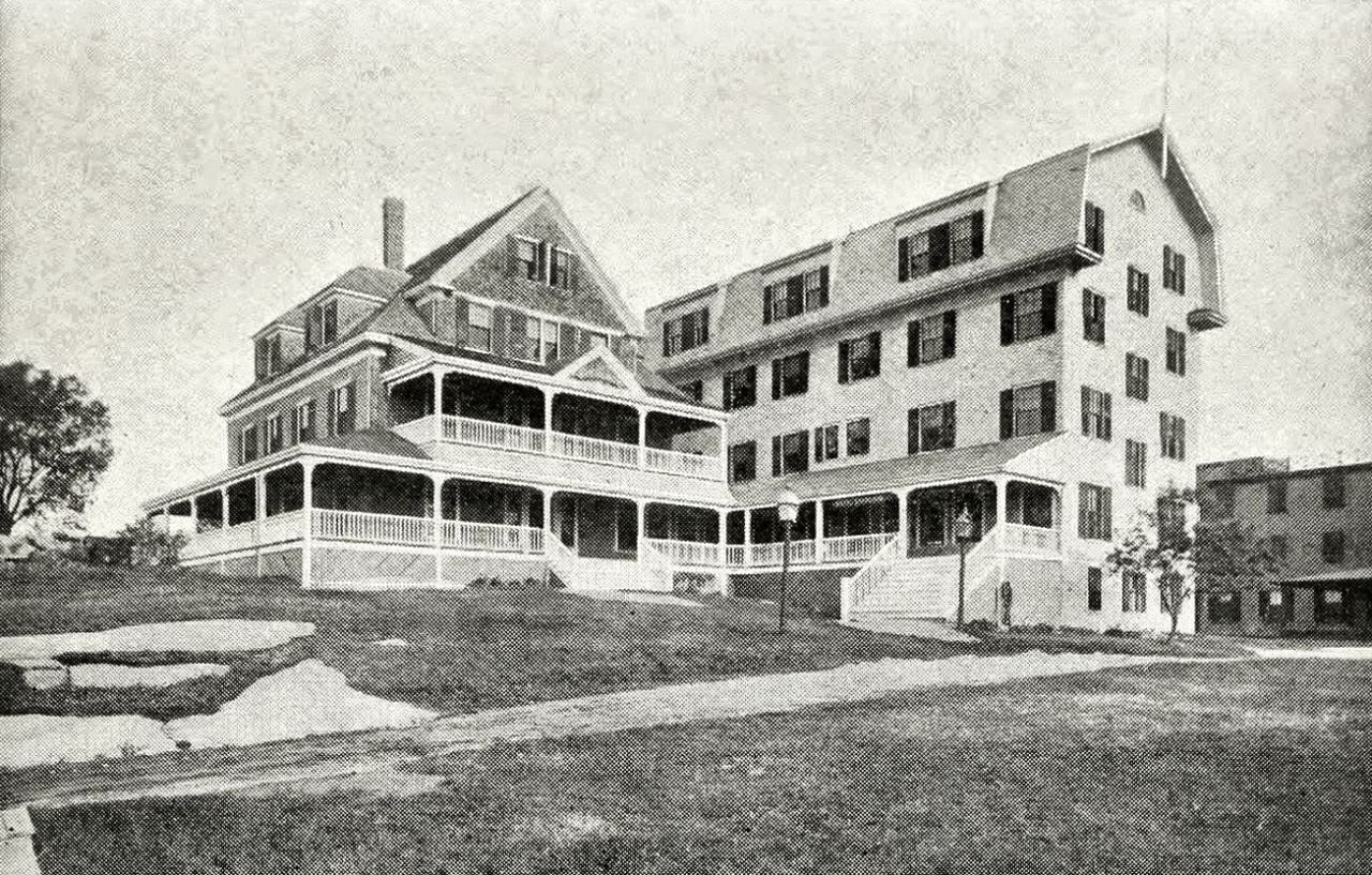 Vintage Arts Architecture 1900 1980 The Overlook Hotel Location The Overlook