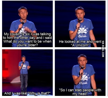 ramoneheroine:  Me and Russell Howard's cousin have so much in common…