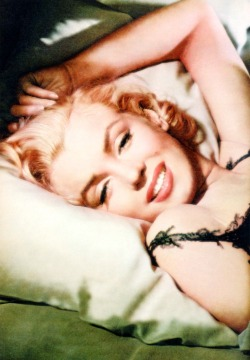 thebeautyofmarilyn:  Marilyn photographed by Milton Greene, 1953.