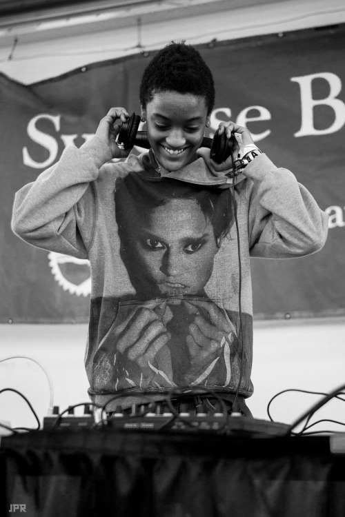 jromerophoto:   Syd The Kyd dj's for Earl Sweatshirt at Syracuse University #2 (Photo Credit: J.Romero Photography)