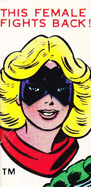 superdames:  —Ms. Marvel #1 (1977) cover detail by John Romita Sr.