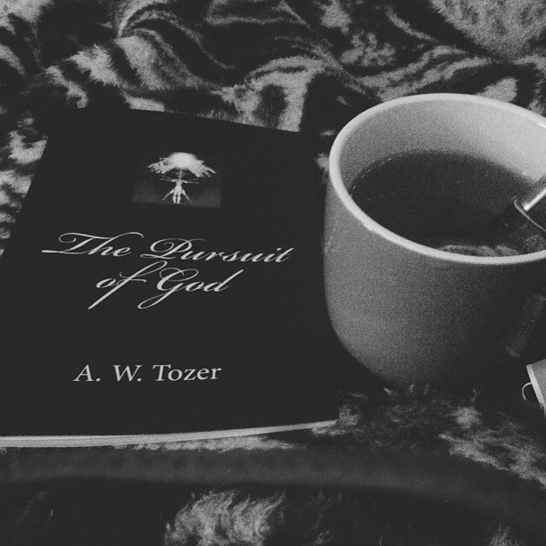 clothedingrace:  tea and a new read..very excited for this one.