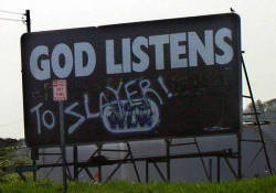 Westboro Baptist Cherch suggest picketing the funeral of Slayer guitarist Jeff Hanneman. Anticipate violence.