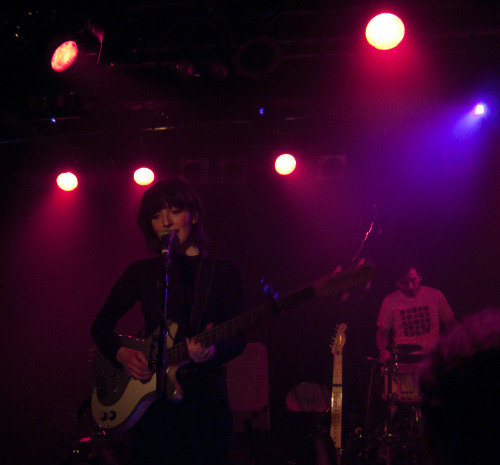 "daughter - debaser slussen, stockholm ""Thanks for coming here wasting your saturday night listening to some depressing music."" It might be quite depressing music at it's heart, but seeing them live, blushing, giggling when everybody sings along and being super sincere. Left me moved, happy and really longing to see them again."