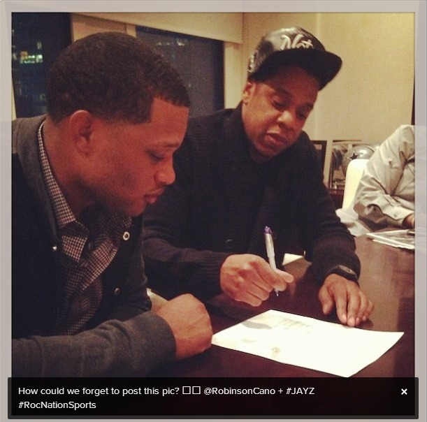 Jay-Z Starts Roc Nation Sports; Signs Robinson Cano as First Client