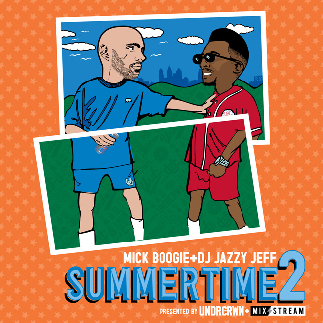 nagardtetsuya:  Check out #Summertime2 presented by @UNDRCRWN - @IamMick + @DJJazzyJeff215 did it again. Smooth as usual.