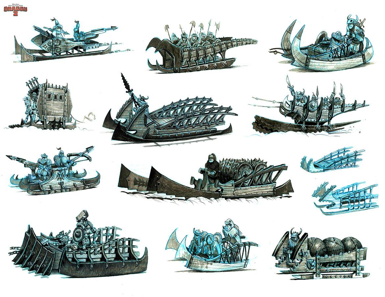 Les travaux réalisés par les artistes sur Dragons Tumblr_n96z5fvq8R1rpjuq0o2_1280