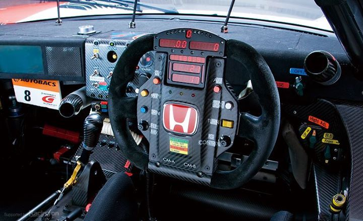 Team Autobacs Honda Racing HSV-010 GT500 cockpit.