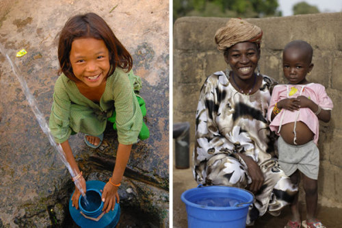 WaterAid is an organization that helps bring clean water to areas where lack of clean water is causing disease or hardship. Since 1981, WaterAid has brought sanitation and safe water to the poorest communities. Something like 800 million people in the world don't have access to clean water, and 2.5 billion don't have sanitation facilities. (via WaterAid brings clean water to the world | Tropic Home)