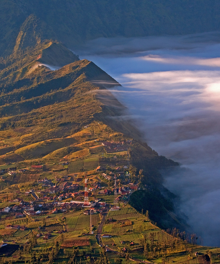 travelingcolors:  Bromo Sunrise, Java | Indonesia (by Davide Calgaro)
