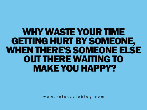 why waste your time…