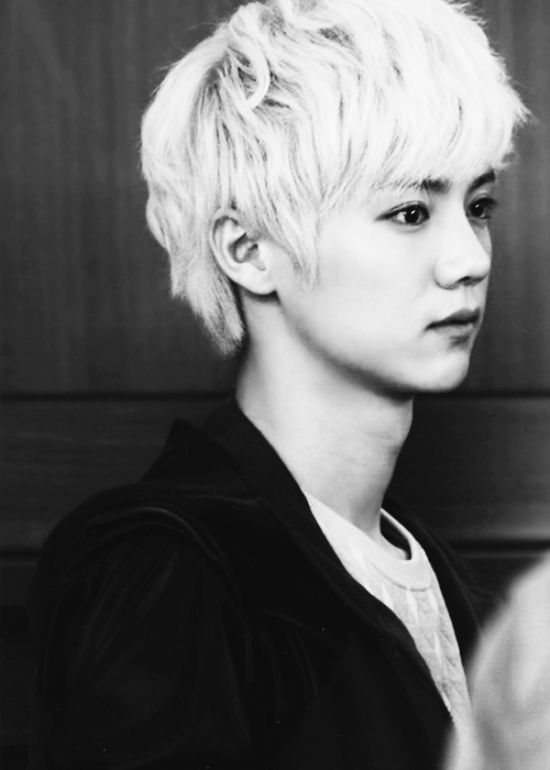 12/ ∞ edits of Luhan  We can't help but wonder how much difference one person makes in the world. We look inside ourselves, questioning if we have the capacity for heroism and greatness.
