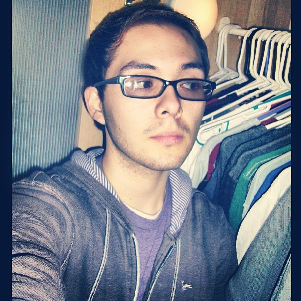 Twenty #tbt #throwback #2007 #me #gay #homo #purple #inthecloset #20 #young #gayboy