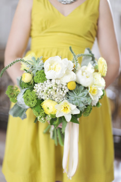 a yellow dress for wedding day