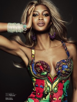 labellefabuleuse:  Naomi Campbell photographed by Tom Munro for Vogue Brazil, May 2013