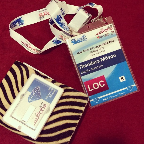 #iaaf #idl #doha #media essentials (at InterContinental)