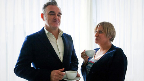 """Victoria Wood's nice cup of tea"" Ep 2 with Morrissey on BBC 1, April 11, 9pm"