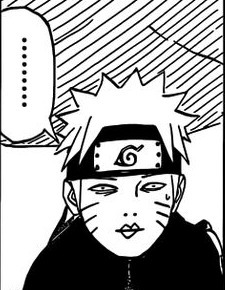 naruto i'm trying to read, stop making stupid faces! this is supposed to be a serious war!