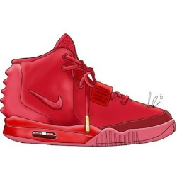no-talking:  Nikey air yeezy x Supreme