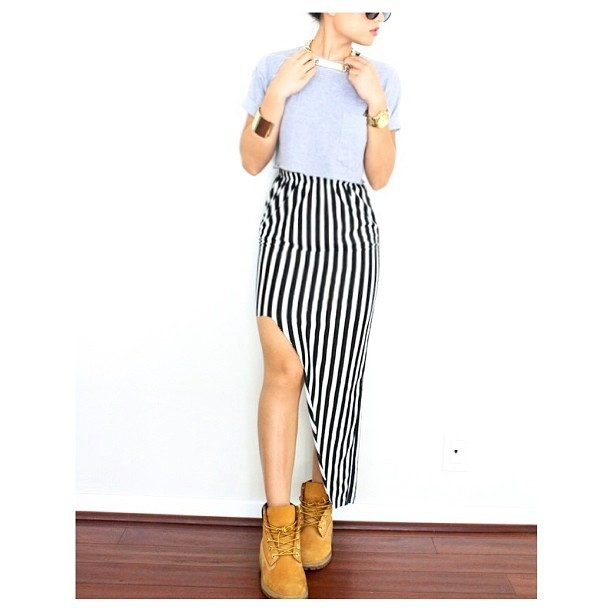 New blog post! #curiouserlia  #timbs #stompclique #stripes