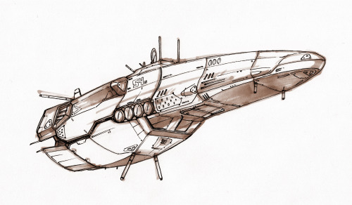 moosecakes:   scout ship