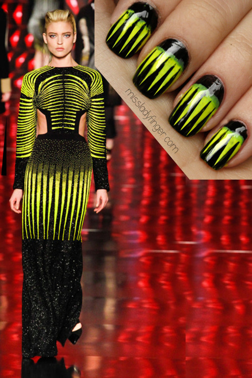 MANICURE MUSE: Etro Fall '13 If looks could kill… careful, these Etro Ladyfingers are sharp.
